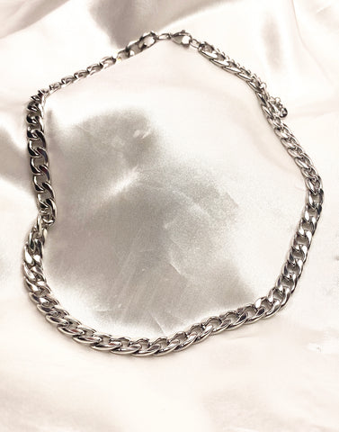 BOSTON CHAIN SILVER