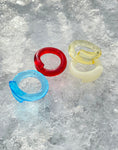 JUMBO GLASS RINGS