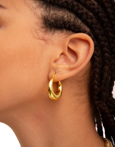 MIA GOLD HOOPS
