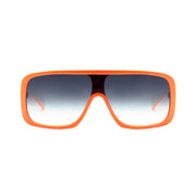 Óculos de Sol Evoke Amplifier FL12 Orange Fluor White / Gray Gradient - Lente 13,4 cm