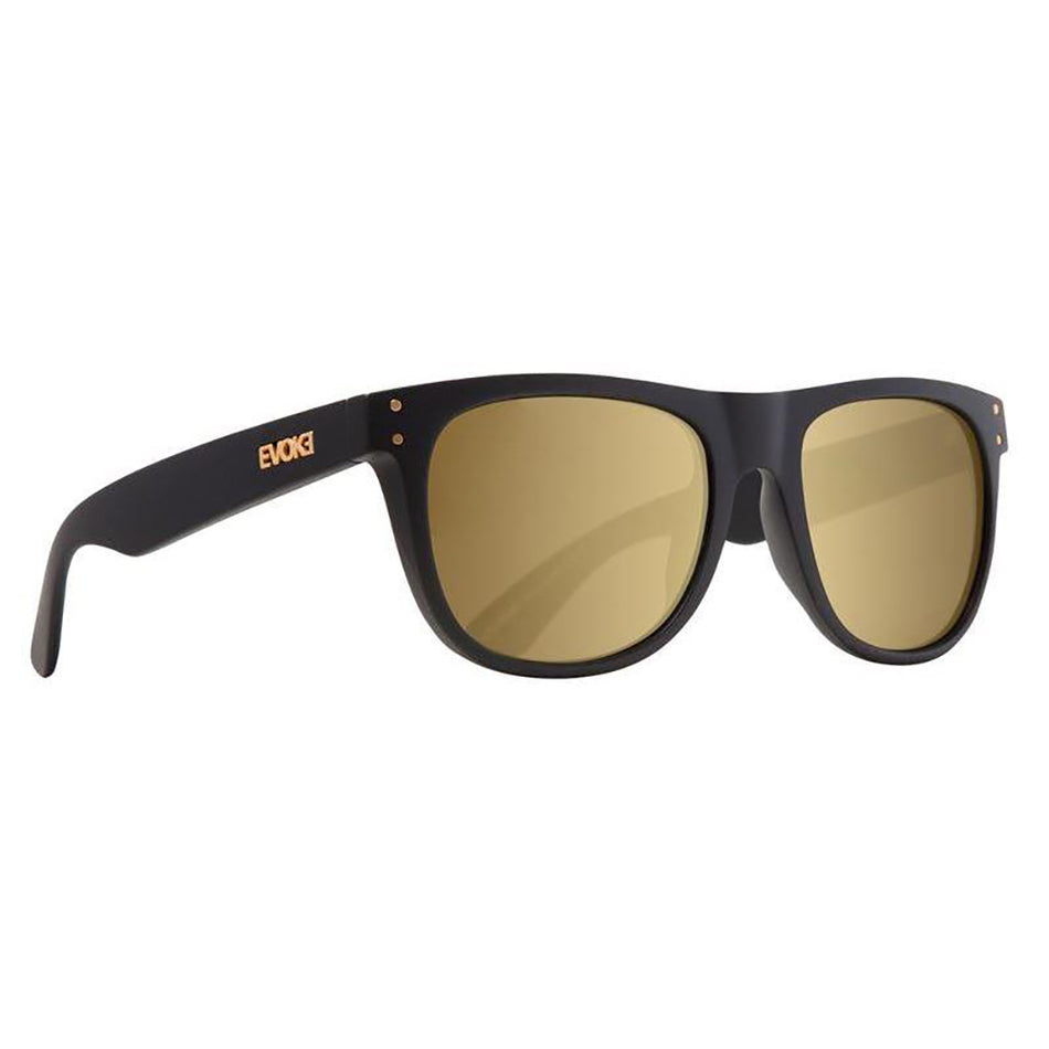 Óculos de Sol Evoke On The Rocks 01 A01G Black Matte/ Gold Mirror - Oculos Shop