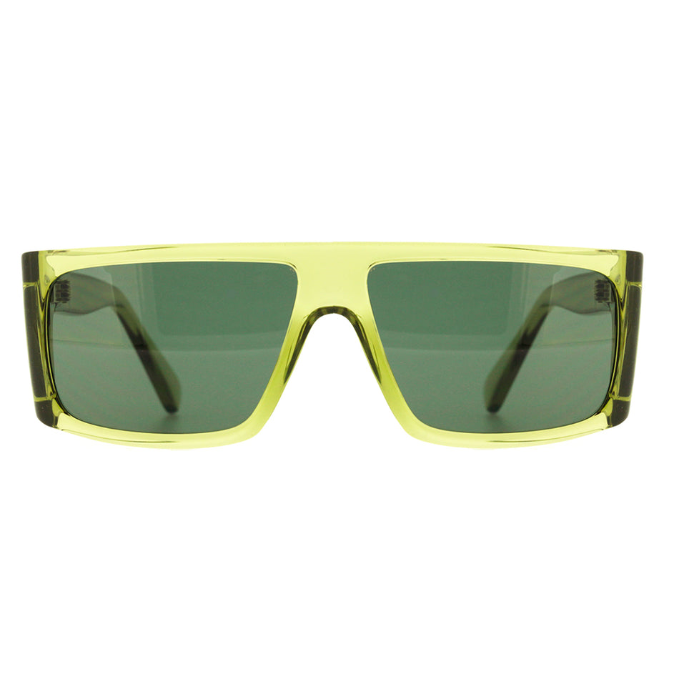 Óculos de Sol Evoke B-Side T04S Green Crystal Matte Gold/ Green Gold Flash Lente 5,8 cm