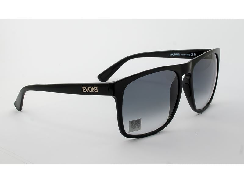 Óculos de Sol Evoke Evk 18 A01 Black Shine/ Gray Degradê - Oculos Shop