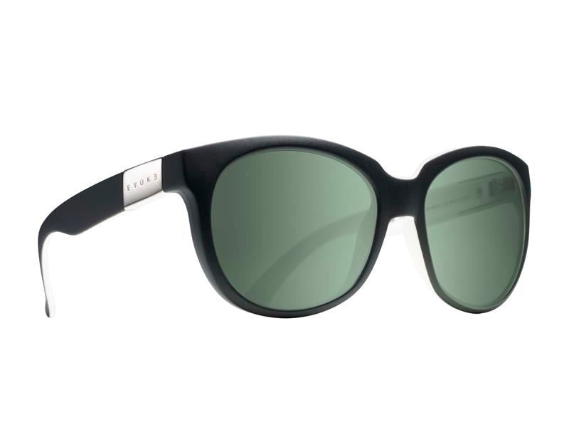 Óculos de Sol Evoke Mystique A10S Black White / Green Flash Mirror Unico - Lente 5,2 cm - Oculos Shop
