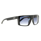 Óculos de Sol Evoke Shift Big A01 Black Shine Silver/ Gray Gradient Lente 5,9 cm