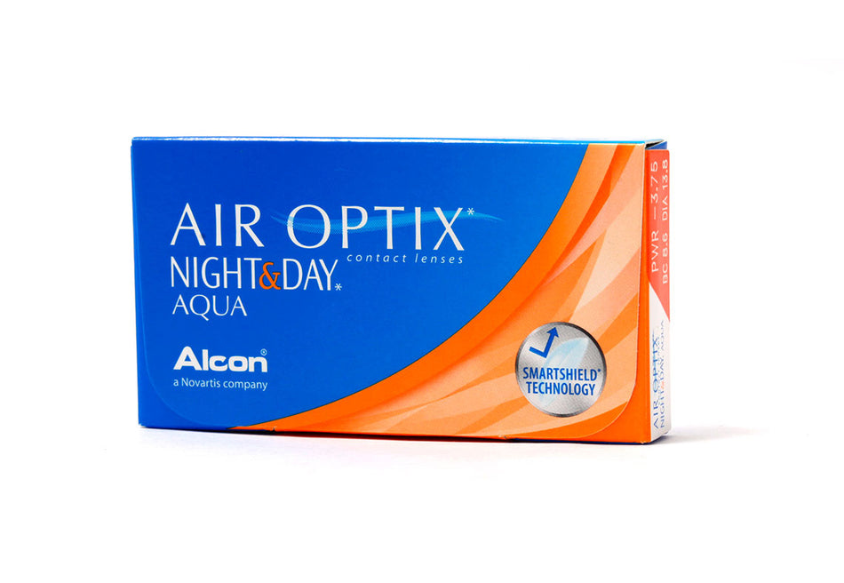 AIR OPTIX NIGHT & DAY AQUA - LENTES DE CONTATO