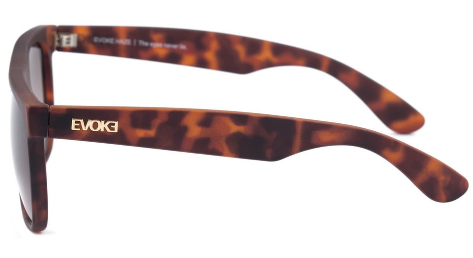 Óculos de Sol Evoke Haze Turtle Matte/ Brown Degradê