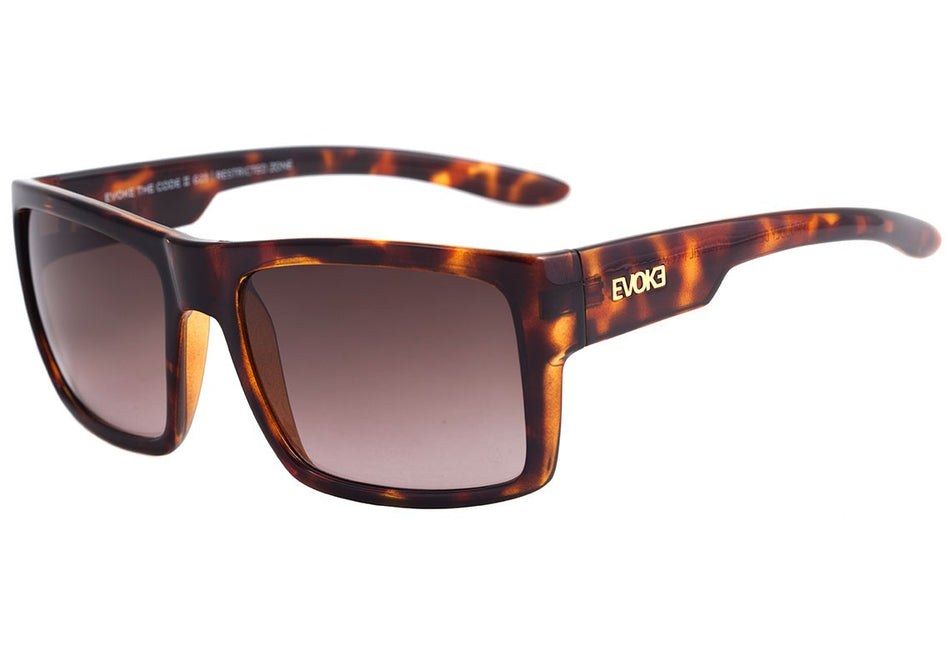 Óculos de Sol Evoke The Code Ii G23 Turtle Shine/ Brown Degradê