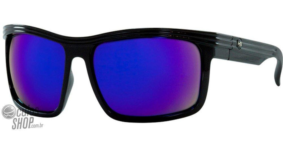 Óculos de Sol Hb Channel Gloss Black/ Multi Blue