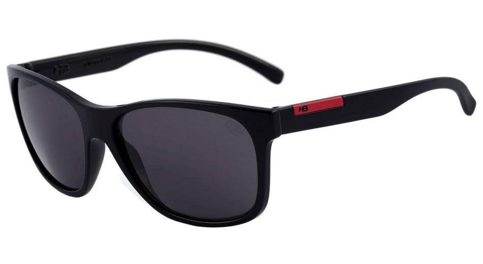 Óculos de Sol Hb Underground Gloss Black D. Red/ Gray