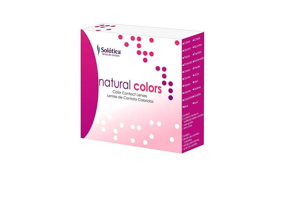 KIT NATURAL COLORS - LENTE DE CONTATO UNICA