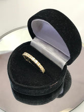 Load image into Gallery viewer, 14K Yellow Gold Cubic Zirconia Infinity Band Ring