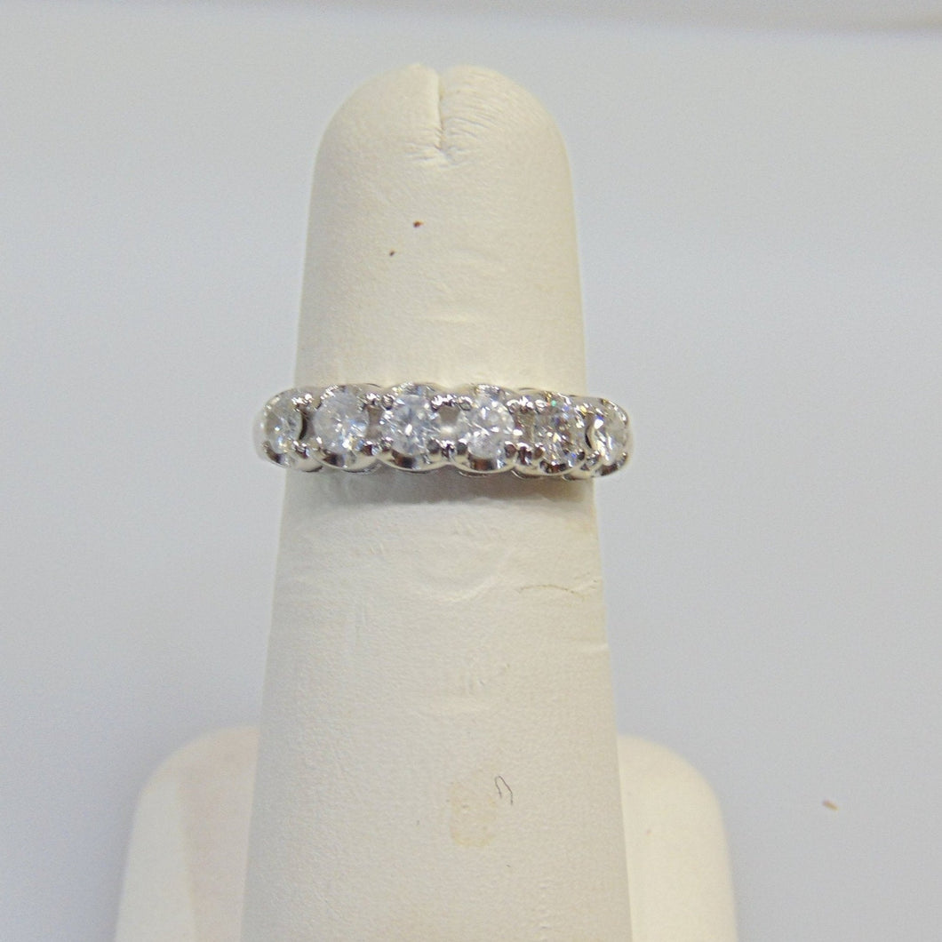 white gold, diamond, band, wedding band, anniversary