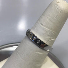 Load image into Gallery viewer, A Beautiful 14KT White Gold Diamond Band