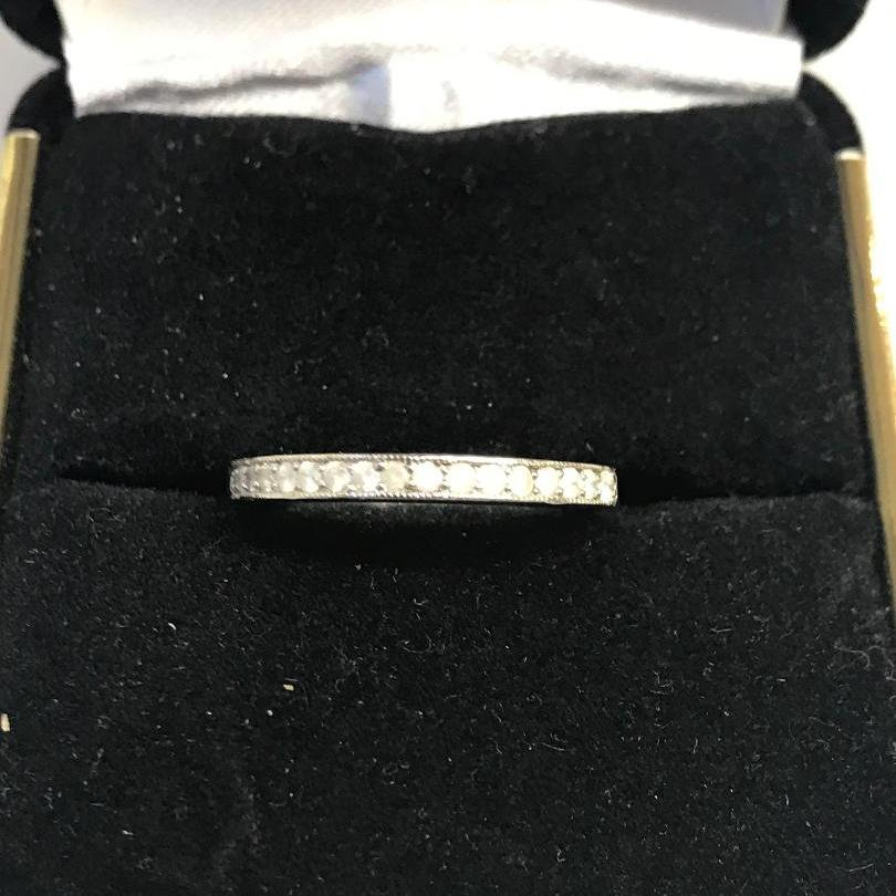Platinum Diamond Band Ring Wedding