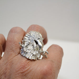 Sterling Silver Eagle Attack Ring Amazing Detail Bird Bald -  - Philadelphia Gold & Silver Exchange