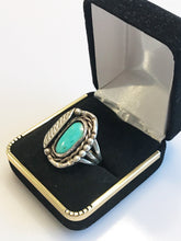 Load image into Gallery viewer, Sterling Silver .925 Native American Turquoise Ring