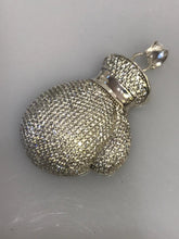 Load image into Gallery viewer, Sterling Silver .925 Micro Pave Diamond Boxing Glove Charm