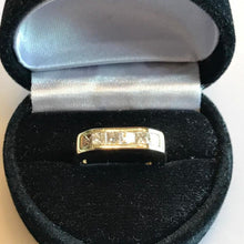Load image into Gallery viewer, 18KT Yellow Gold Diamond Band