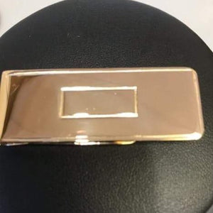 14K Solid Yellow Gold Classic Money Clip