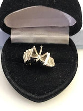 Load image into Gallery viewer, Ladies 14KT White Gold Diamond Remount With Baguettes