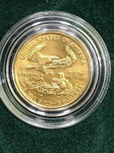 Load image into Gallery viewer, US Mint 1/10 Of An Ounce Gold Bullion Coin With Authenticity
