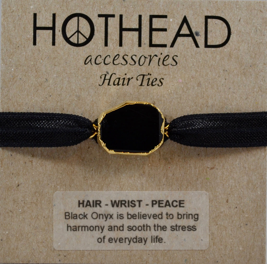 LITTLE BLACK HAIR TIE