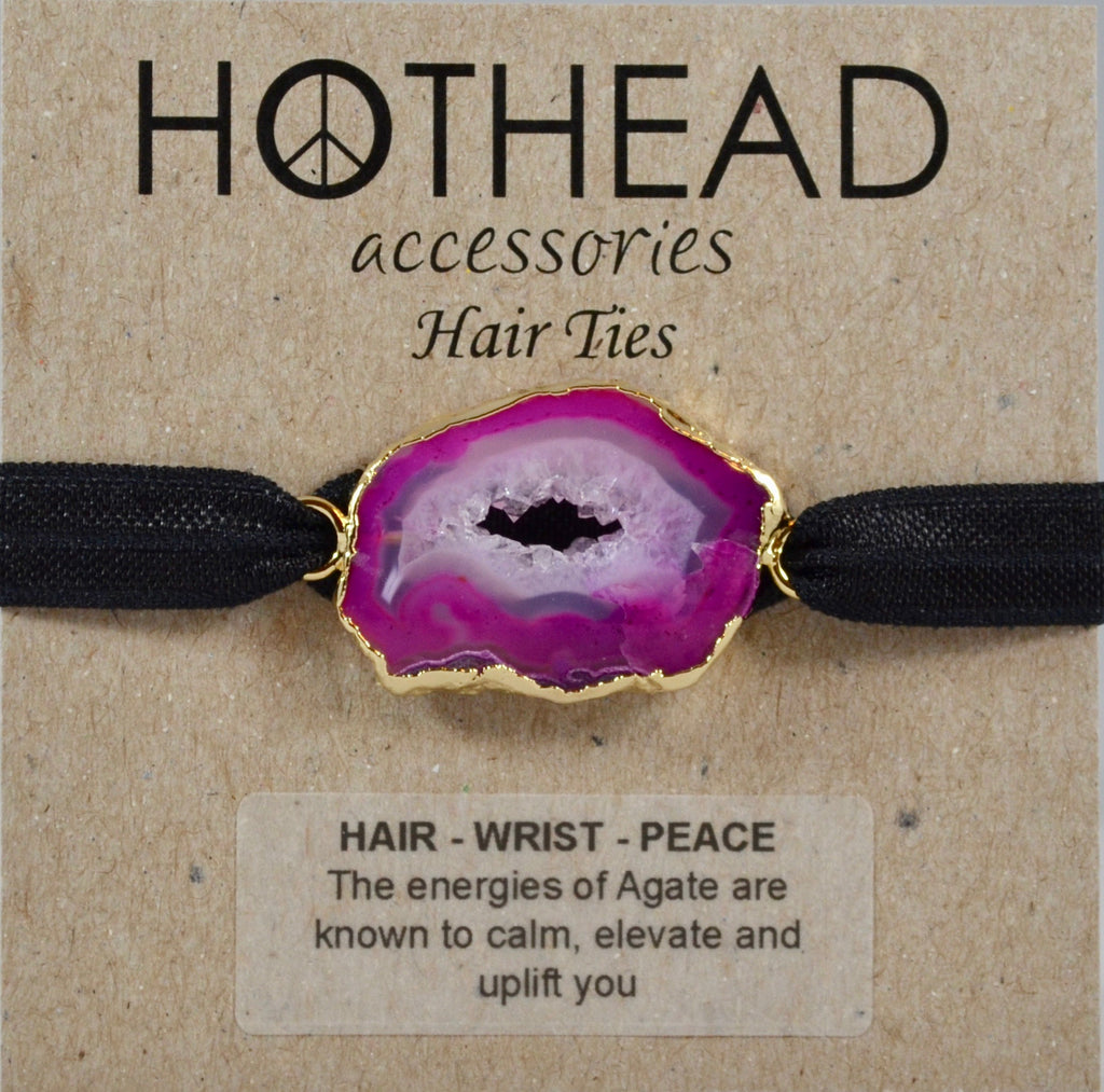 ALWAYS PINK POSITIVE HAIR TIE