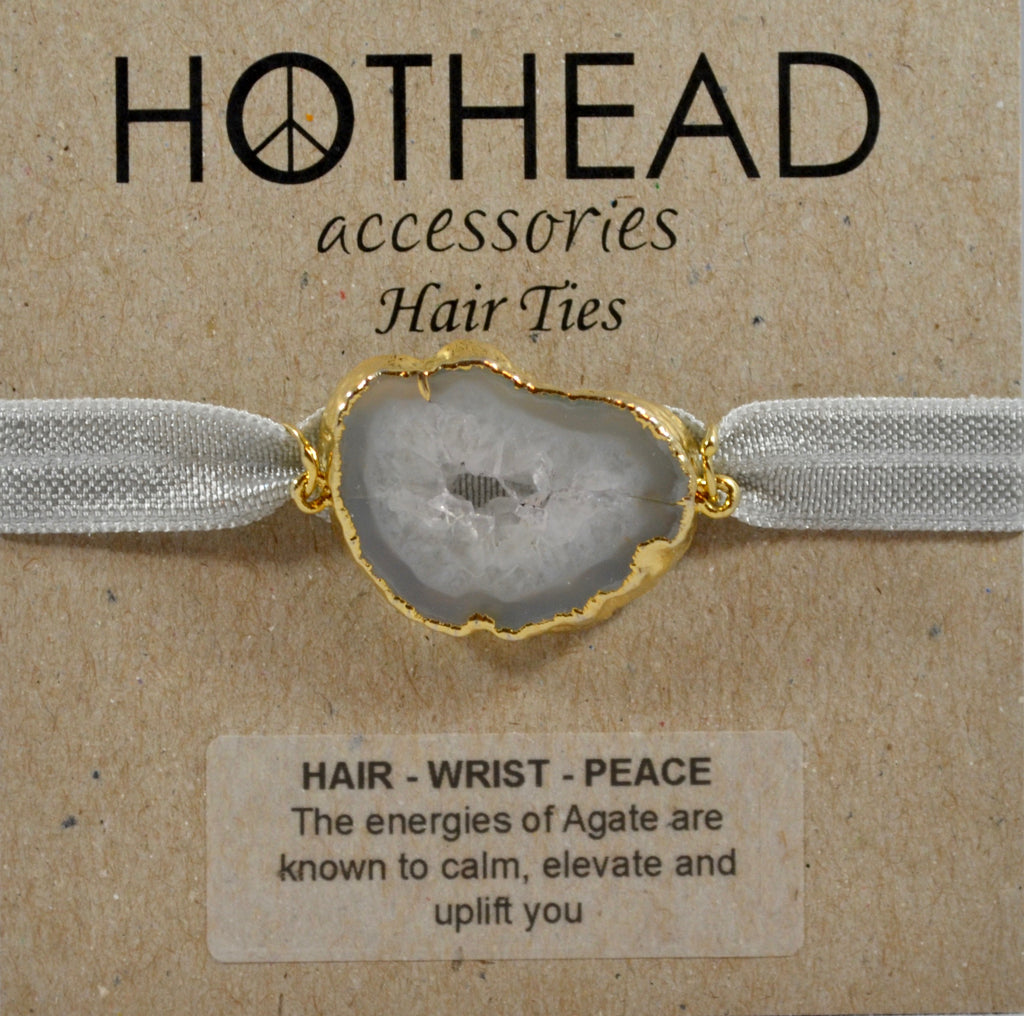 SILVER LINING HAIR TIE