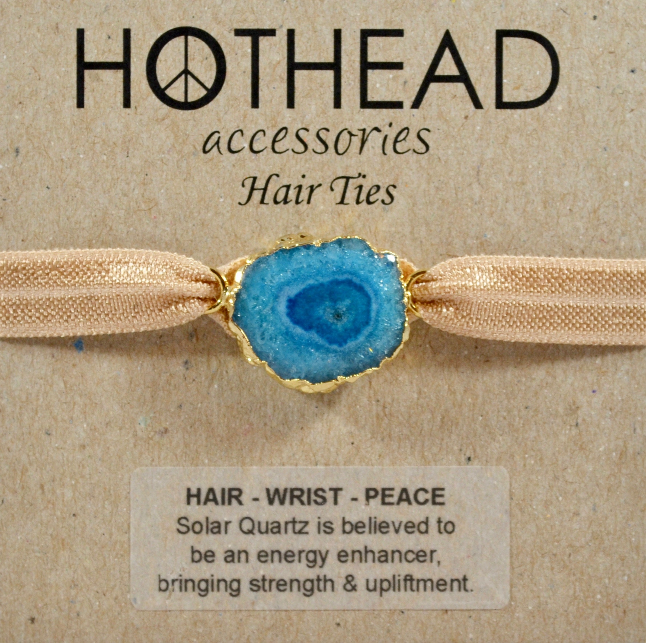 SOLAR ENERGY MINERAL HAIR TIE