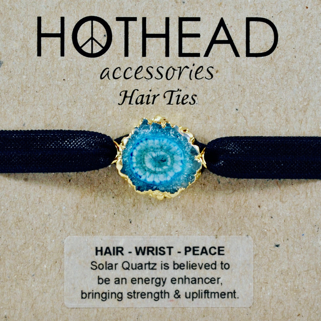 SOLAR ENERGY AQUA HAIR TIE