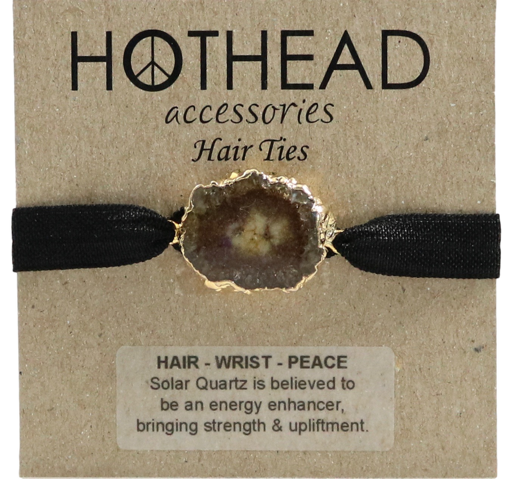 SOLAR ENERGY MOCHA HAIR TIE