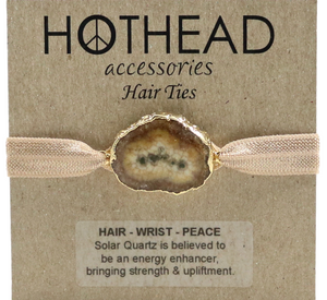 SOLAR ENERGY COCOA HAIR TIE