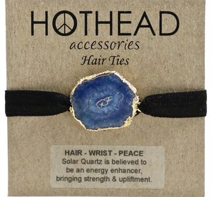 SOLAR ENERGY AZURE HAIR TIE