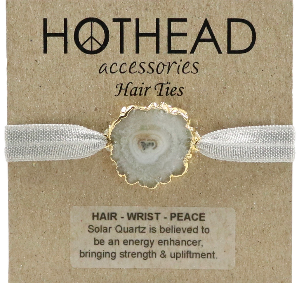 SOLAR ENERGY OYSTER HAIR TIE
