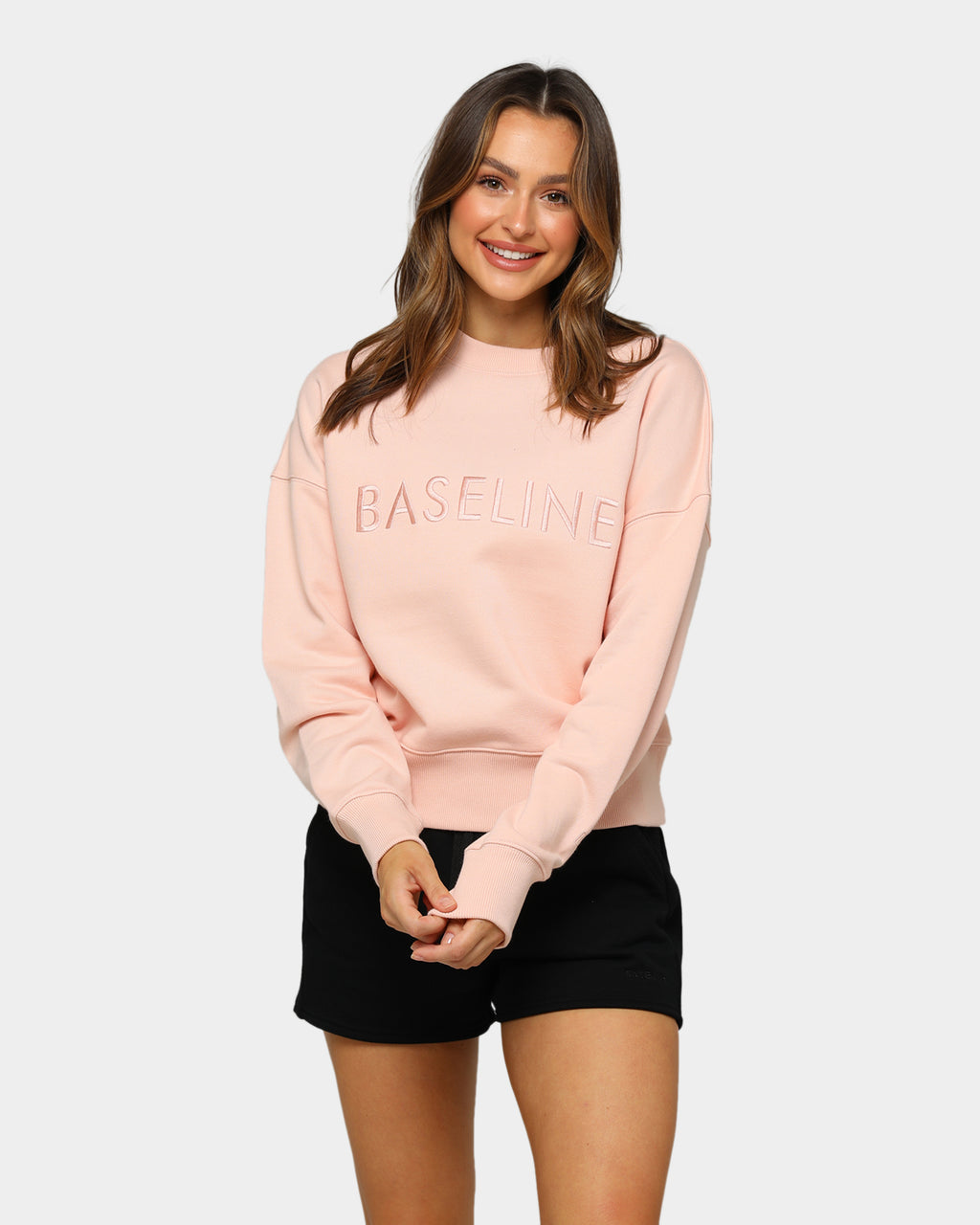 Baseline Stand Out Sweater Blush