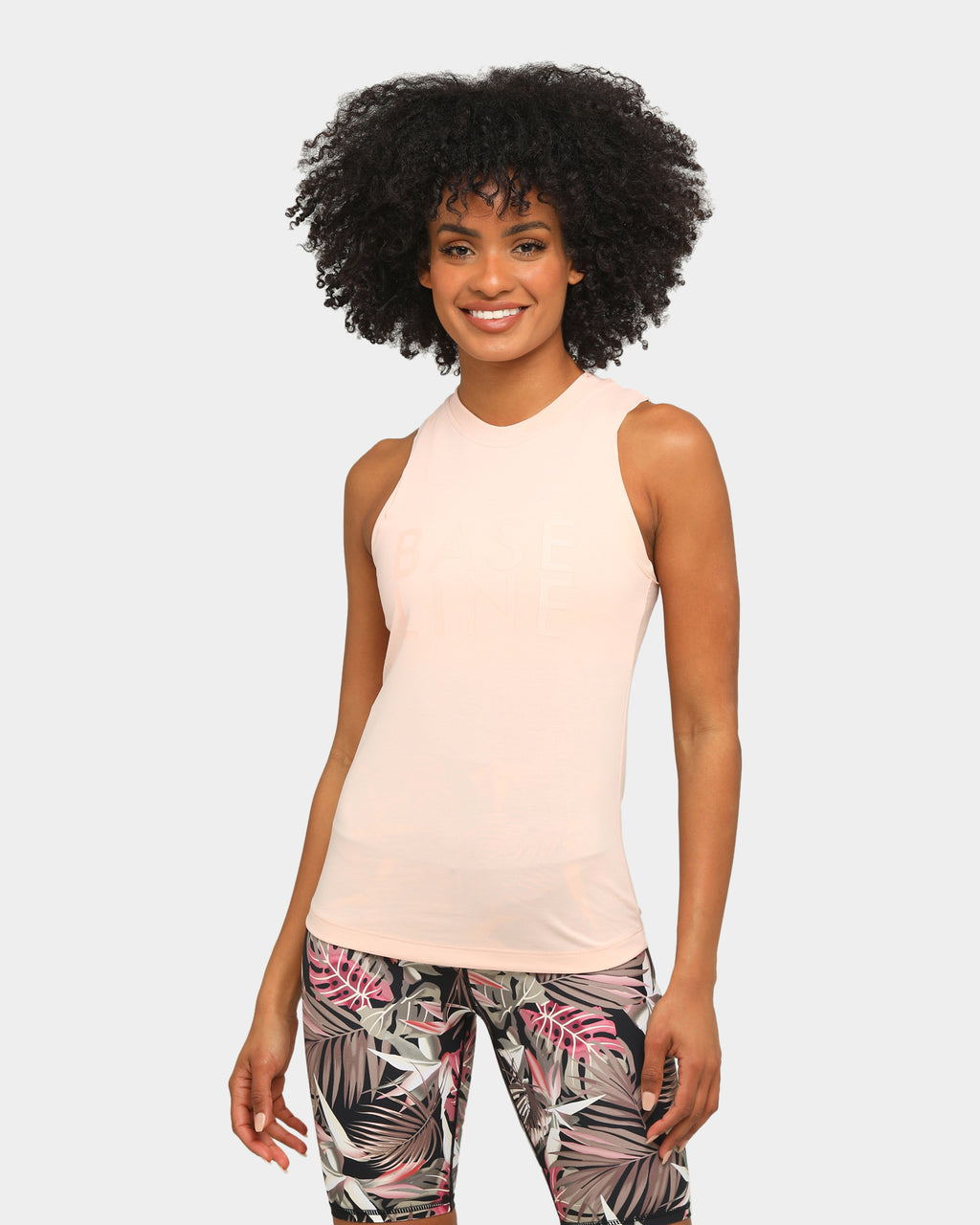 Baseline Easywear Workout Tank Blush