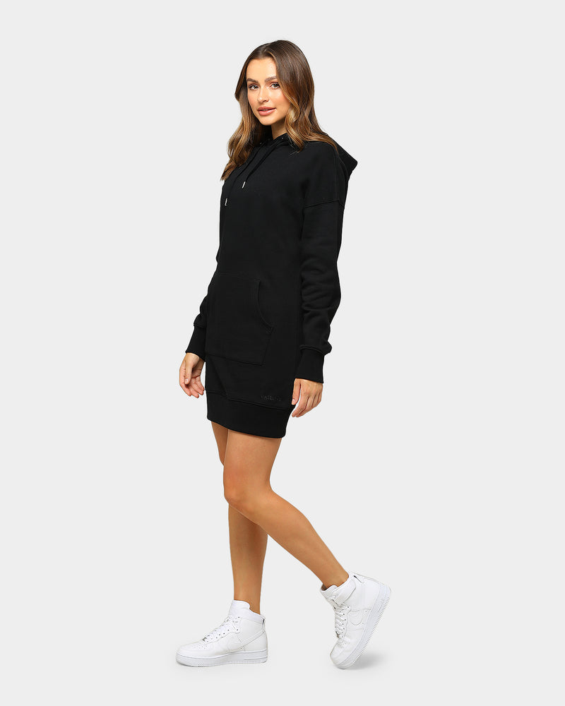 Baseline Hoodie Dress Black