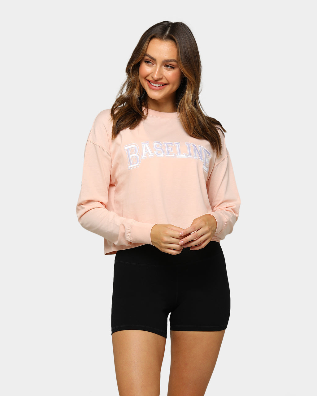 Baseline Everyday Long Sleeve Tee Blush