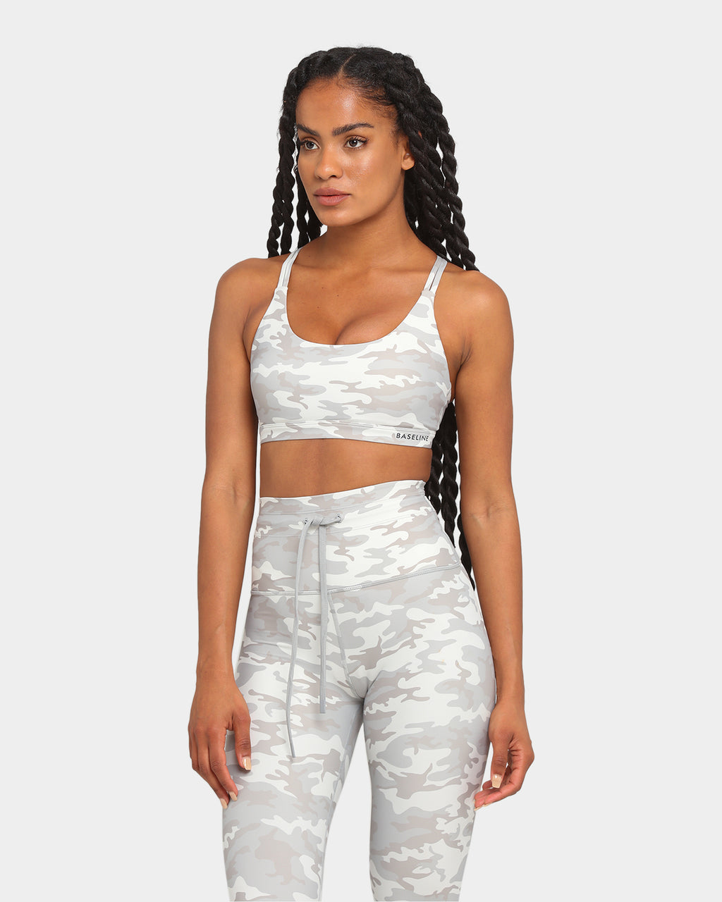Baseline Dedication Sports Bra Dedication Print