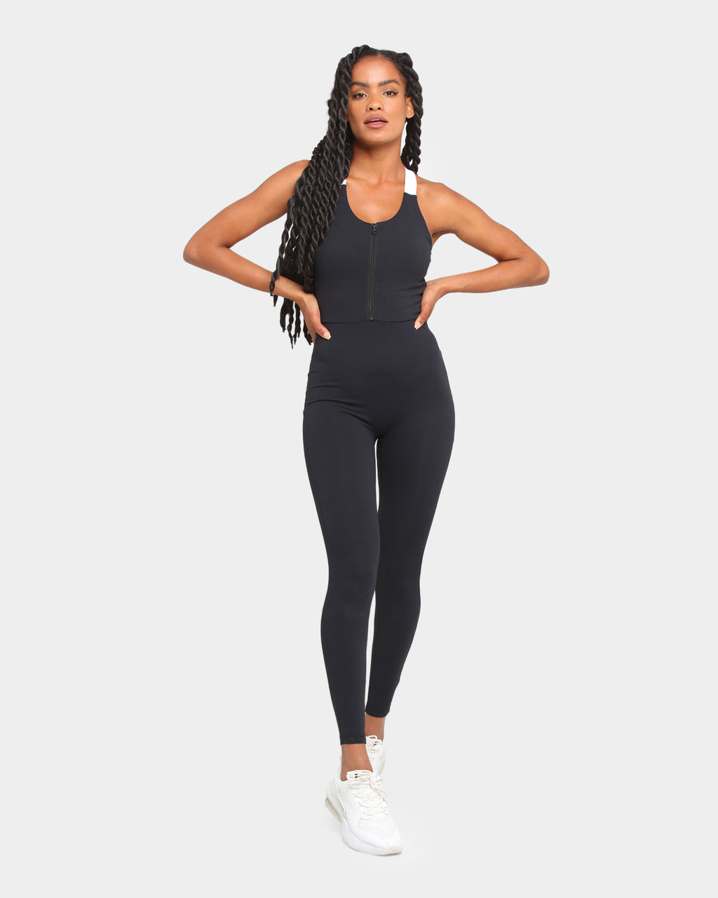 Baseline All In One Bodysuit Black
