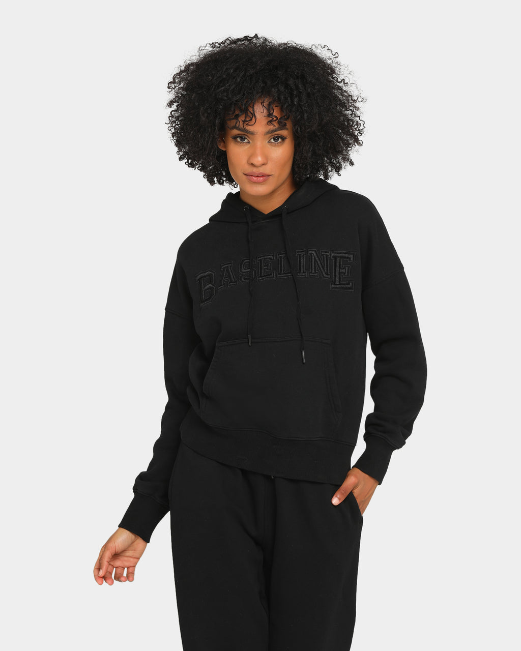 Baseline Stand Out Hoodie Black