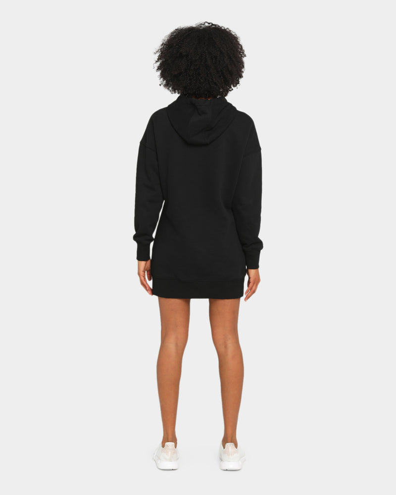 Baseline Stand Out Hooded Dress Black