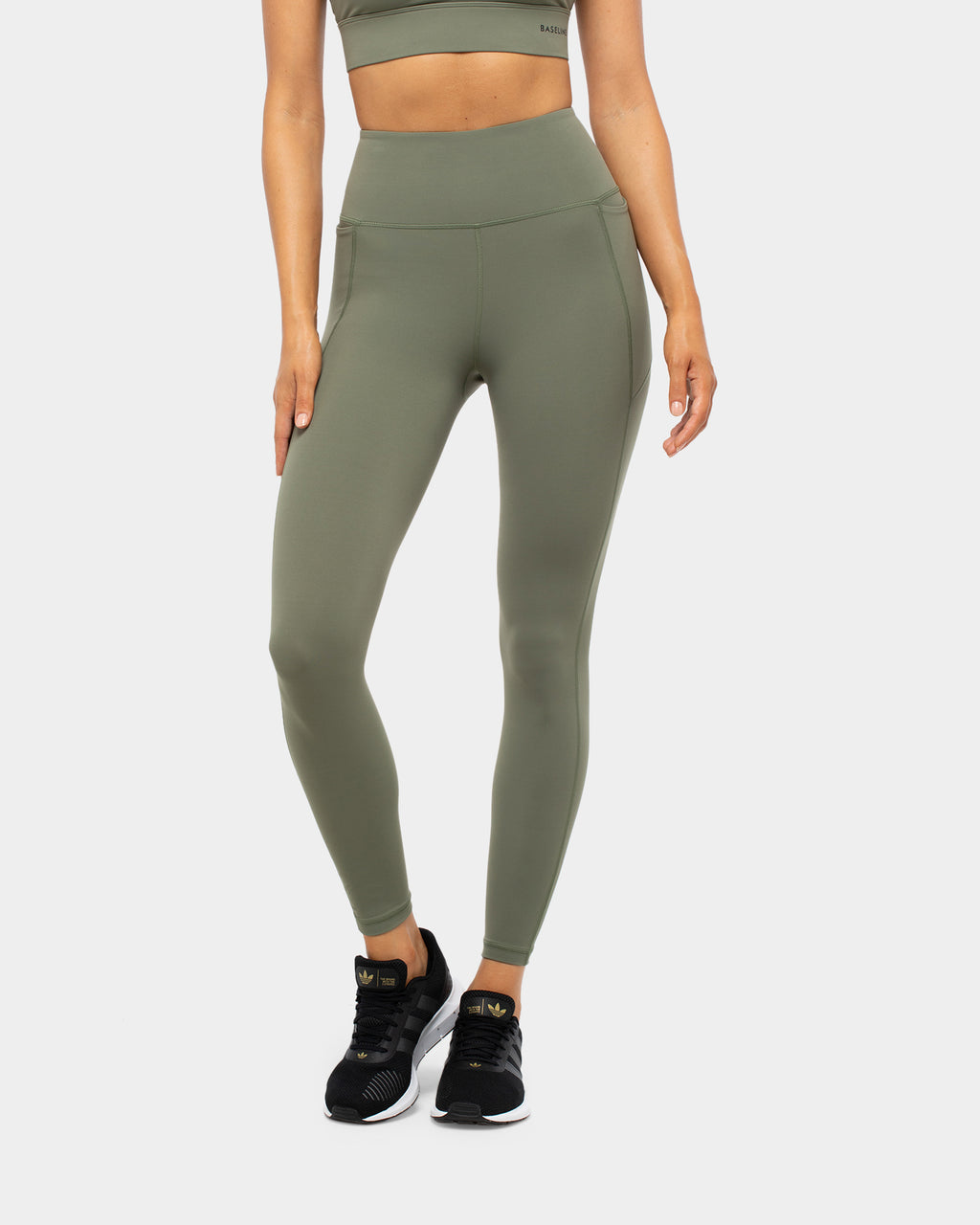 Baseline Next Level  Full Length Tight Khaki