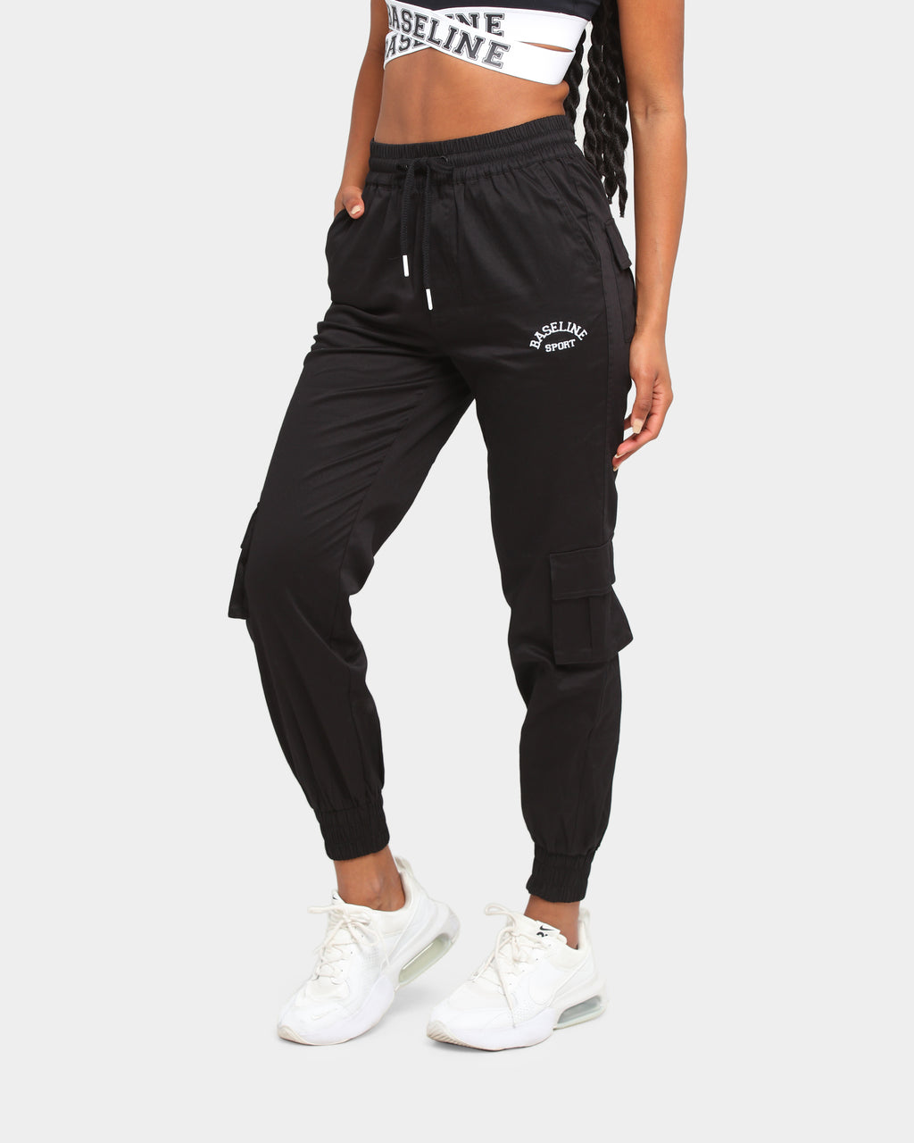 Baseline Adaptable Cargo Pant Black