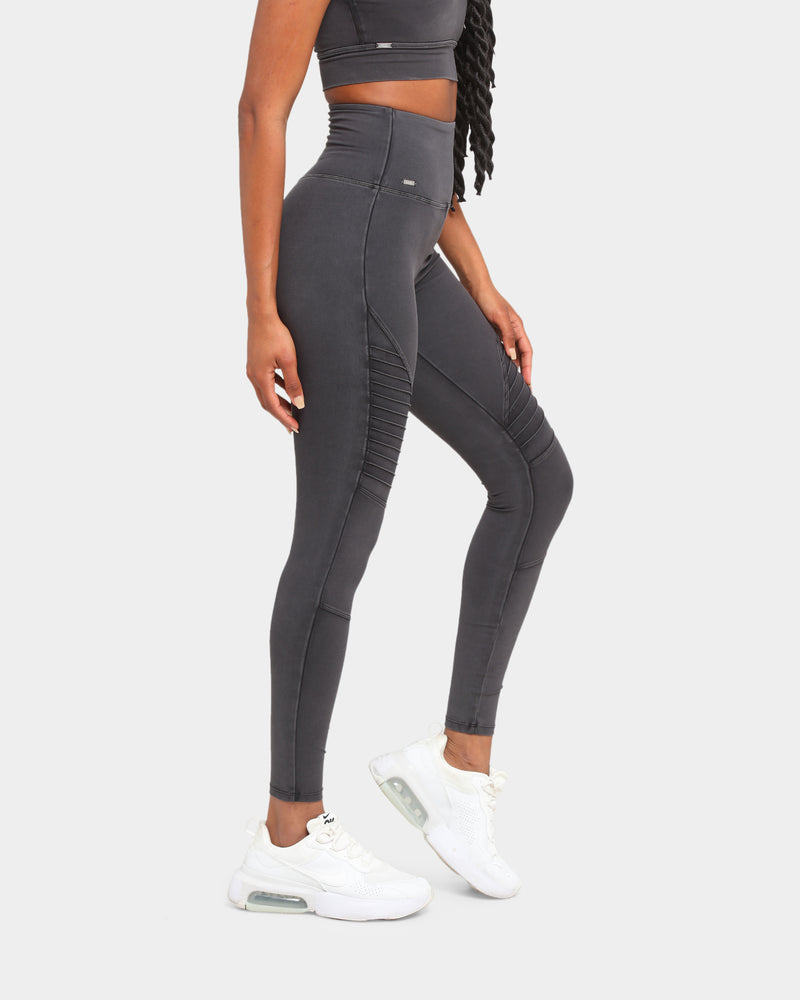 Baseline Accelerate Reinforced Tight Washed Iron Grey