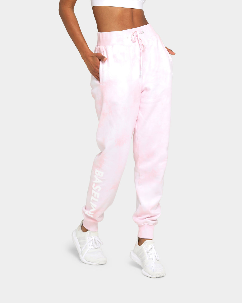 Baseline Stand Out Track Pant Pastel Pink Tie Dye