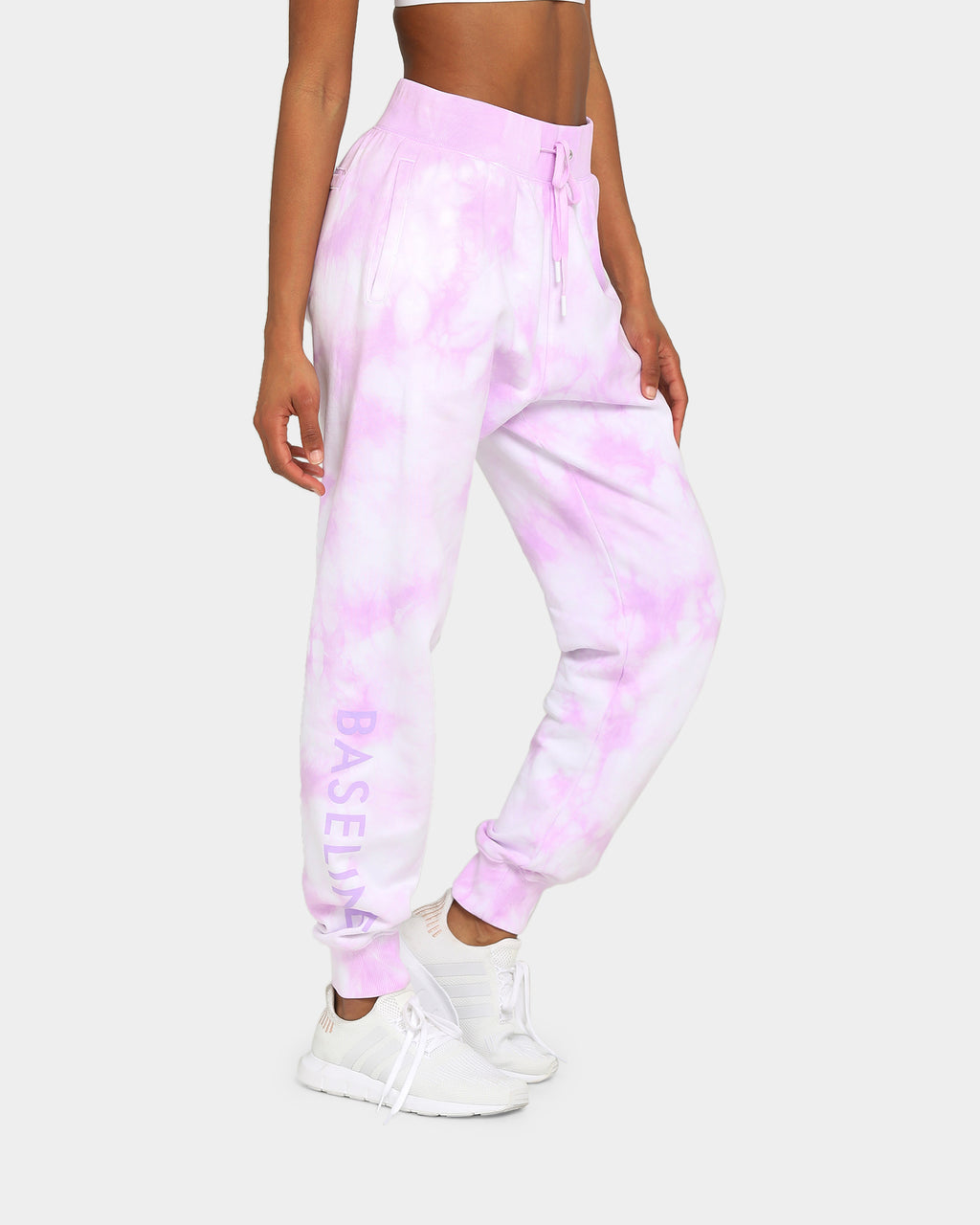Baseline Stand Out Track Pant Pastel Purple Tie Dye