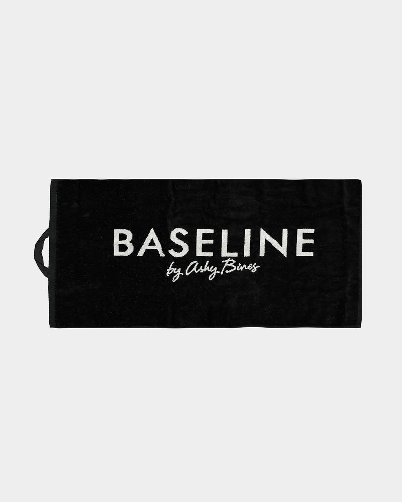 Baseline Small Sweat Towel Black