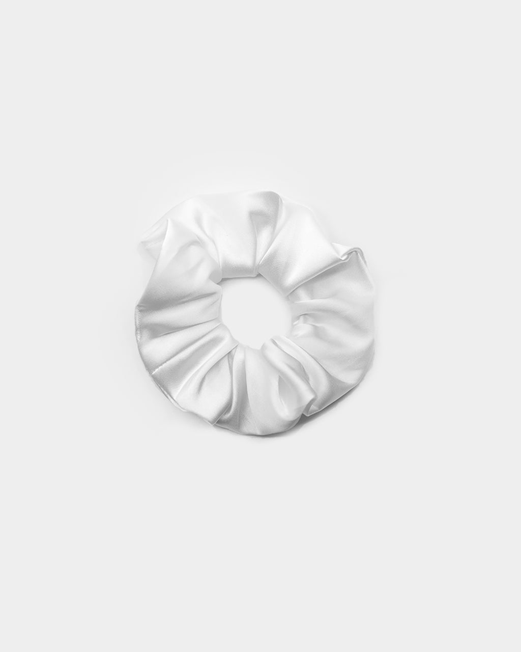 Baseline Scrunchie White